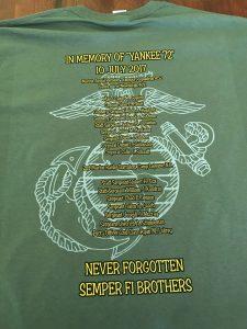 f71a67a3138511 Yankee 72 Caine Goyette Memorial Sale Items ⋆ Major Caine Goyette ...